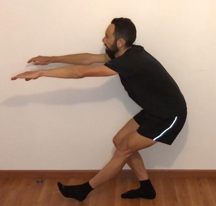 squats sur une jambe
