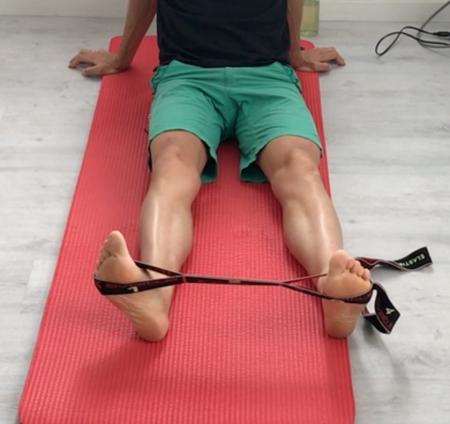 travail musculaire des fibulaires