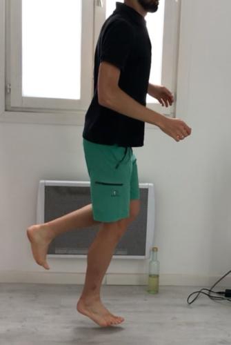 exercice de plyométrie pour la cheville