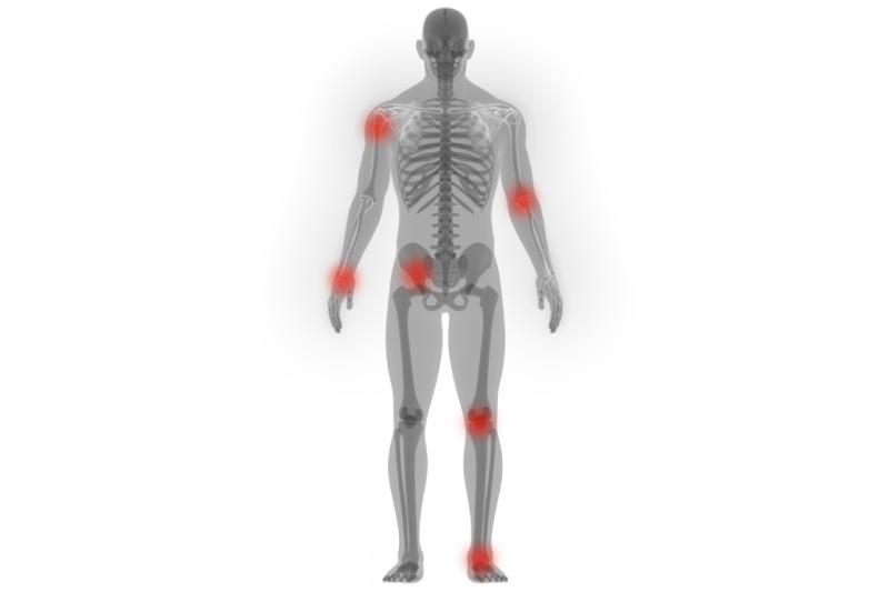 schéma de l'inflammation chronique