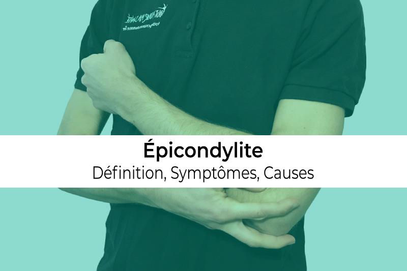 définition causes et symptômes de l'épicondylite