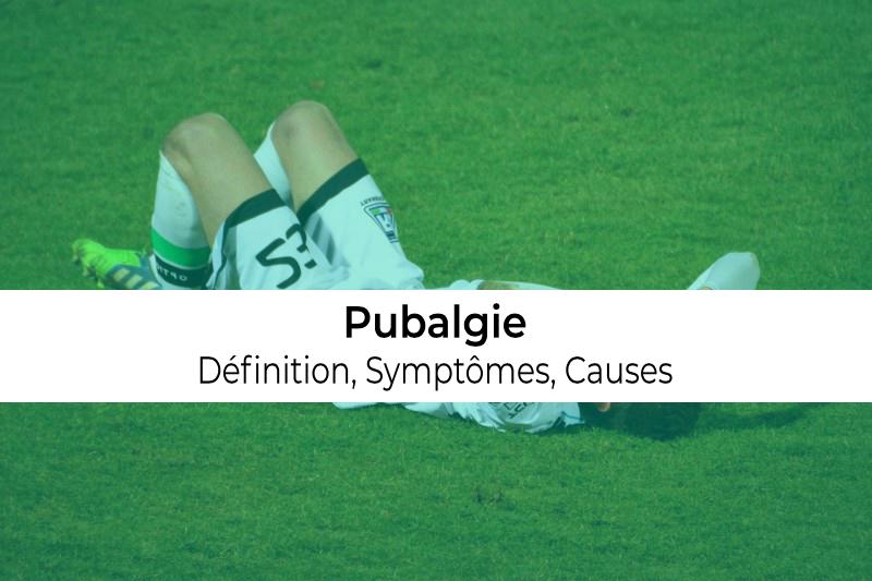 définition causes et symptômes de la tendinite de la pubalgie