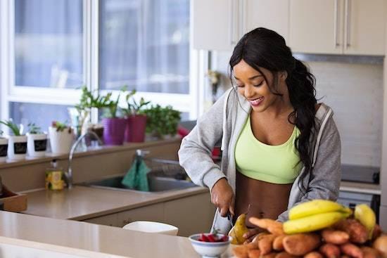 préparer son repas après le sport
