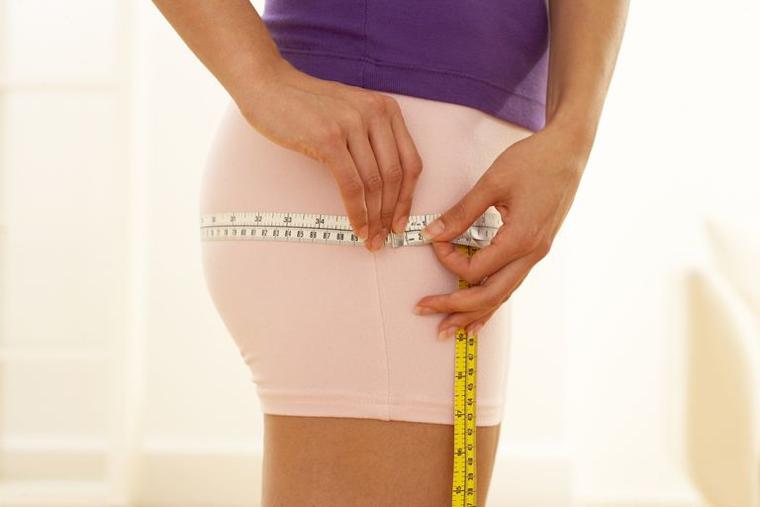 Mesure du tour de hanche