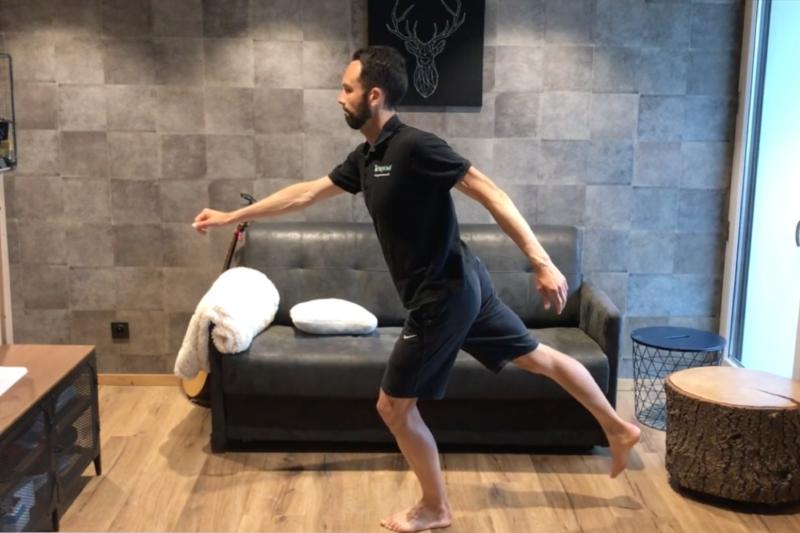 Échauffement articulaire musculaire, stabilité et mobilité des hanches