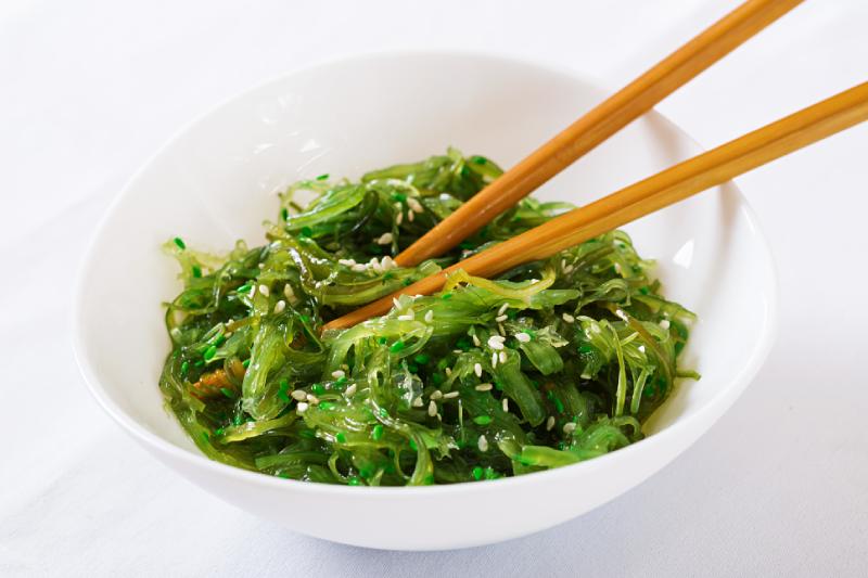 Aliments riches en magnésium, exemple des algues