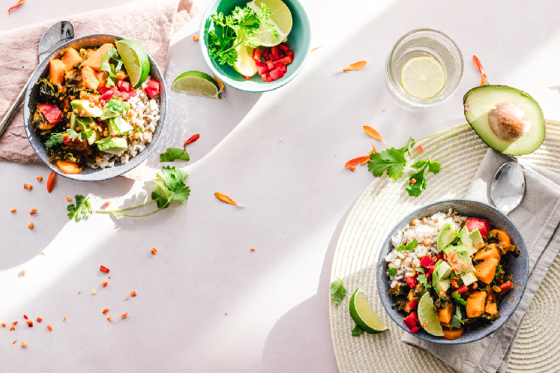 menus et recettes pour manger sainement