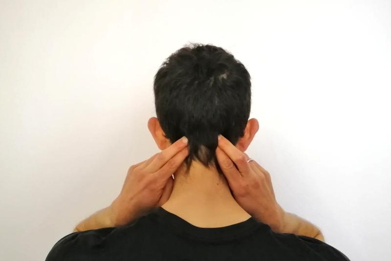 massage détente pour soulager les maux de tête