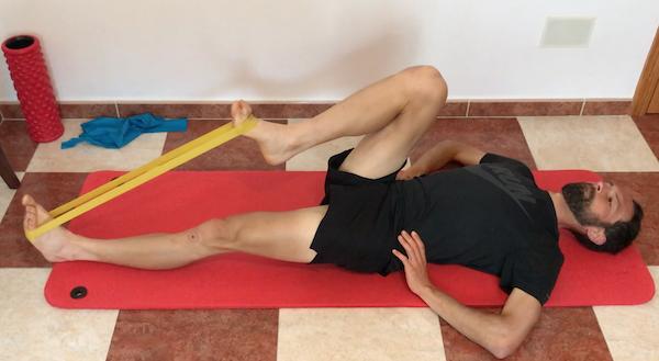 exercice pour la douleur du psoas